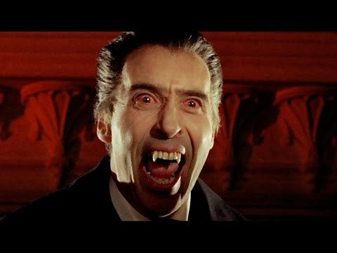 Christopher Lee as Dracula: Bite Montage