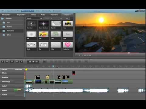 Online Video Editing with WeVideo