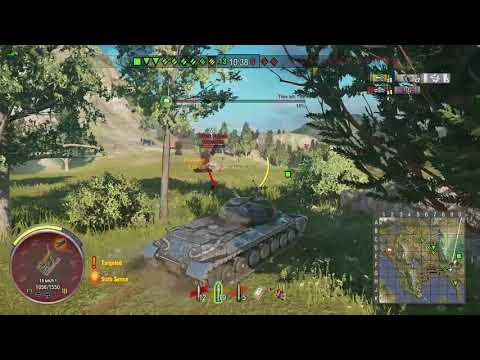 World of Tanks Xbox one Alpine Tiger WZ-111 5 Kills.