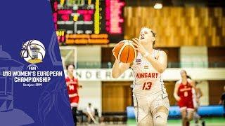 Hungary v Czech Republic - Full GameFIBA U18 Women's European Championship 2019