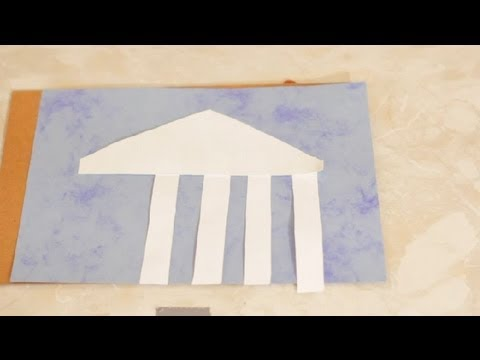 Greece Themed Crafts