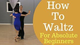 How To Waltz Dance For Beginners - Waltz Box Step