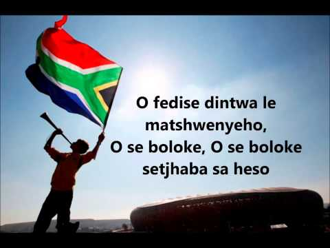 Nkosi Sikelel iAfrika (south african national anthem with lyrics...