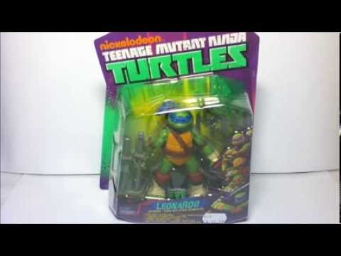 Teenage Mutant Ninja Turtles Leonardo Figur   German Review (Deutsch)