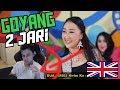 Lagu *REACTION* GOYANG 2 JARI - Sandrina  (Goyang 2 Jari Sadrina English Reaction)