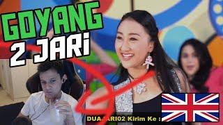 Download REACTION GOYANG 2 JARI  Sandrina Goyang 2 Jari Sadrina English Reaction