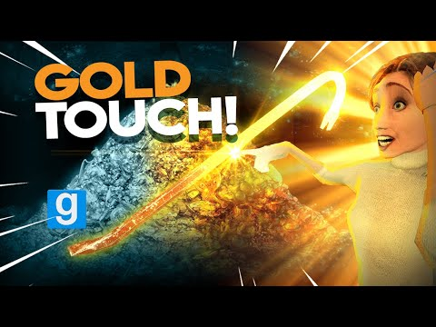 THE GOLDEN TOUCH | Gmod Sandbox (King Midas Touch)
