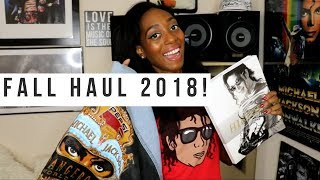 Michael Jackson Merchandise Haul (NO MUSIC) - Fall 2018