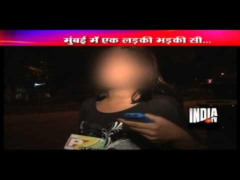 Mumbai girl smashes auto at midnight