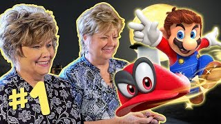 Moms Play Mario Odyssey! - PART 1