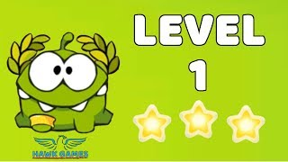 Cut The Rope: Time Travel - Level 5-1 [Ancient Greece] 3 Stars Walkthrough