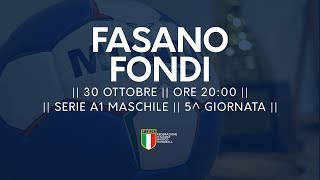 Serie A1M [5^]: Junior Fasano - Fondi 27-24