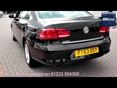 2014 Volkswagen Passat S 1.6l Deep Black Metallic FT63OSY for sale at JCB VW Ashford