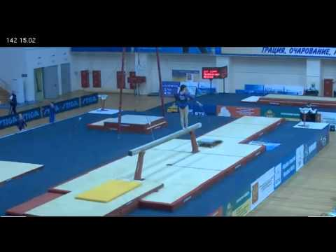 Aliya Mustafina - Beam - Russian Championships, 3/21/2012