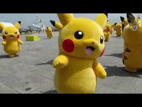 [PGF] Aperçu de l'Event Japon : Pikachu Outbreak! à Yokohama Minato Mirai Park