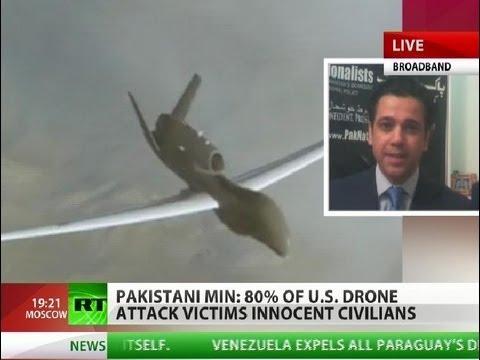 80% of drone strike victims innocent civilians