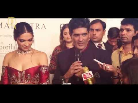 The Quint: Deepika & Fawad Star in Manish Malhotra's Persian Story