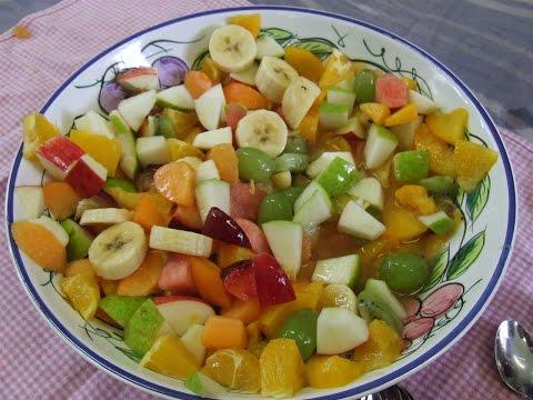 Салаты фруктов фото