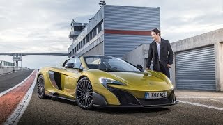 675LT Spider - The Drive, with Bruno Senna