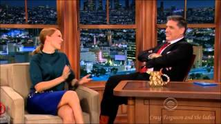Léa Seydoux on Craig Ferguson and the ladies 21st Feb 2014
