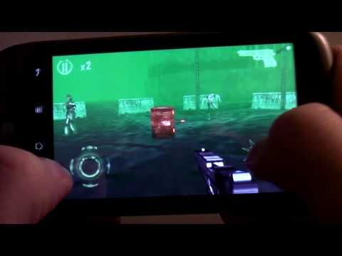 Welcome To Hell Android Game on Google Phone Nexus One - 3D Action Horror Game