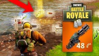 Dropped Him a Legendary Minigun = BEST TEAMMATE (Fortnite: Battle Royale)