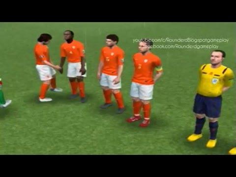 Japan vs Netherlands Quarter-finals world cup pes ps2 2016