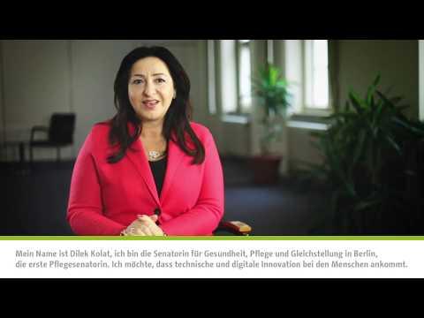 """Fachgremium """"Pflege 4.0"""", Dilek Kolat, Senatorin für Gesundheit, Pflege und Gleichstellung"""