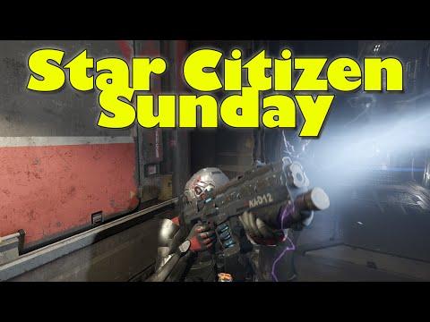 Star Citizen Sunday Part 2 - Star Marine Update & Merlin Winner!