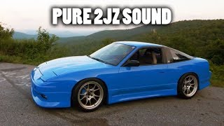 The Best 2jz Sounds Ever Bluejz Pure Sound