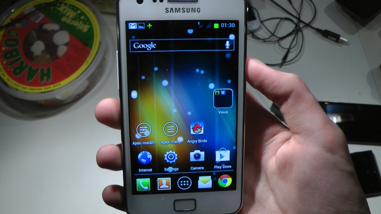 Launcher Sumsung Galaxy S 3 На Андроид