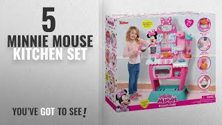 Top 10 Minnie Mouse Kitchen Set [2018]: Just Play Minnie's Happy Helpers Brunch Café Roleplay