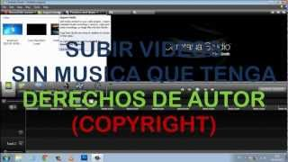 COMO EDITAR UN VIDEO PARA SUBIR A YOUTUBE