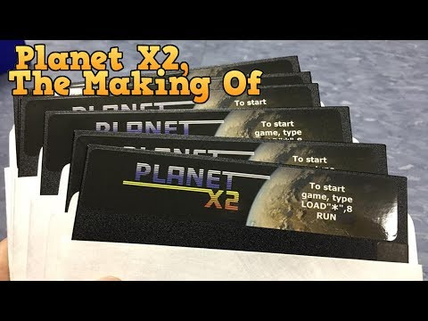 Planet X2 for the Commodore 64. The Making Of.