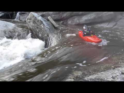 The Cave Rapid in Linville Gorge