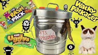 Wacky TRASH CAN Surprise Wednesday! Trash Pack! Uggly's! Wacky Packages!