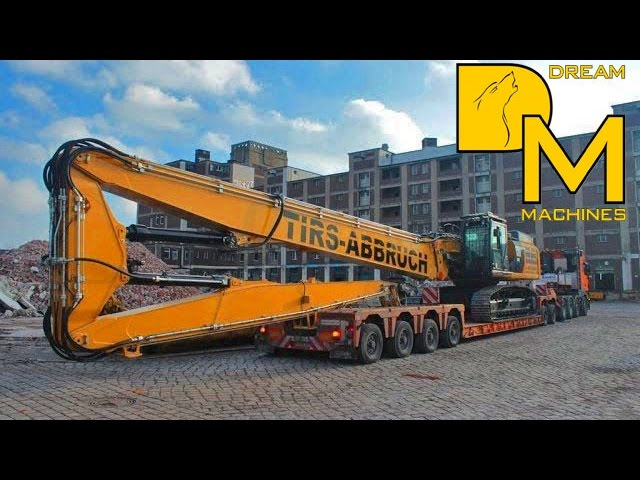 CATERPILLAR 349E LONGFRONT EXCAVATOR OVERSIZE LOAD RIEDEL