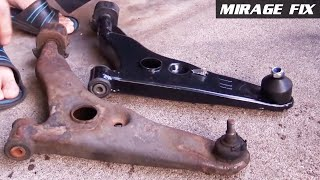 Mirage Fix 22 | Front Lower Control Arms & DIY Alignment [English]