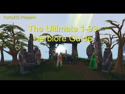 RS3 Ultimate 1-99 Herblore Guide – Most Profitable and Best Exp Methods