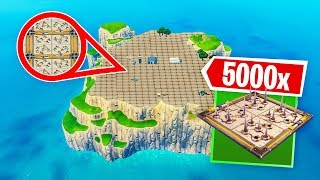 *5000* TRAPS VS SPAWN EILAND! - Fortnite Nederlands