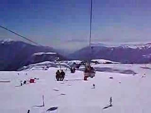 Ski El Colorado Chile on Cable Car