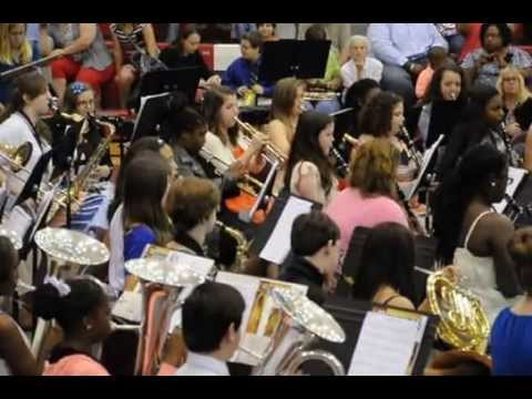 Pine Grove Middle School 7th Grade Spring Band Concert - Colliding Visions