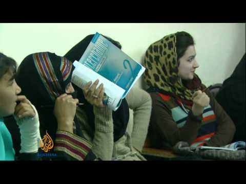 Women's education in Afghanistan threatened