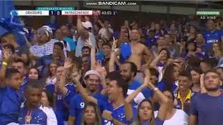 Gol de David Cruzeiro 1 x 0 Patrocinense Campeonato Mineiro 23/01/2019