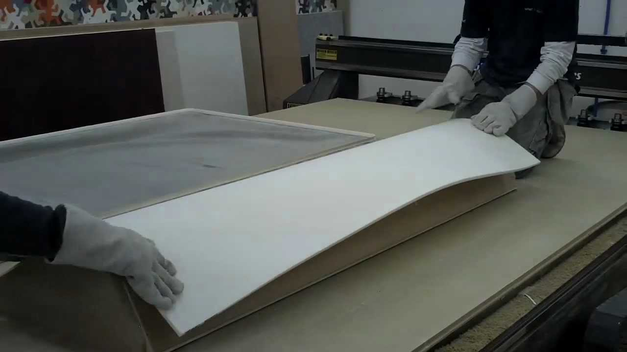 Thermoforming Corian Youtube