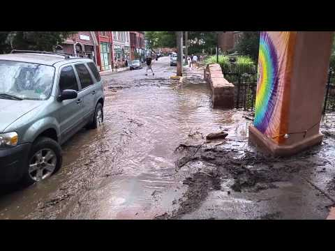 Manitou Springs flood August 10 2015 part 1