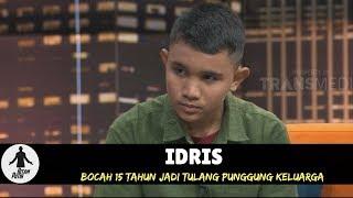 IDRIS, BOCAH 15 TAHUN JADI TULANG PUNGGUNG KELUARGA   HITAM PUTIH (17/05/18) 1-4