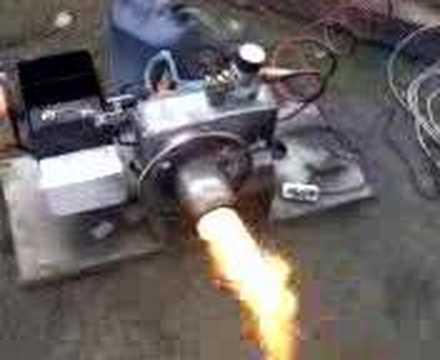 homemade waste oil burner - palnik na olej przepracowany