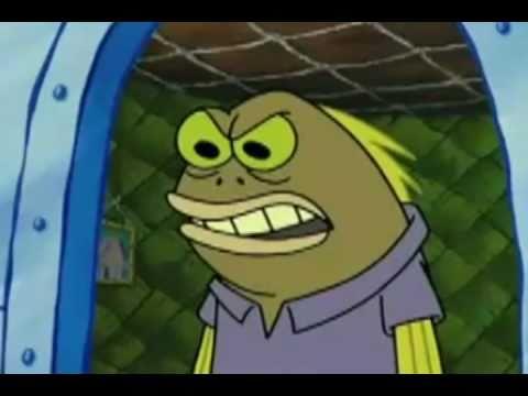 Spongebob The Screaming Chocolate Guy (ORIGINAL SCENE)