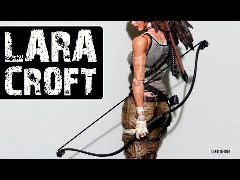 Play Arts Kai LARA CROFT Tomb Raider - Review e Unbox / DiegoHDM